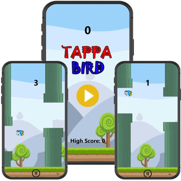 Earn Money Online From Games Tappy Bird Unity Source Code Flappy Bird