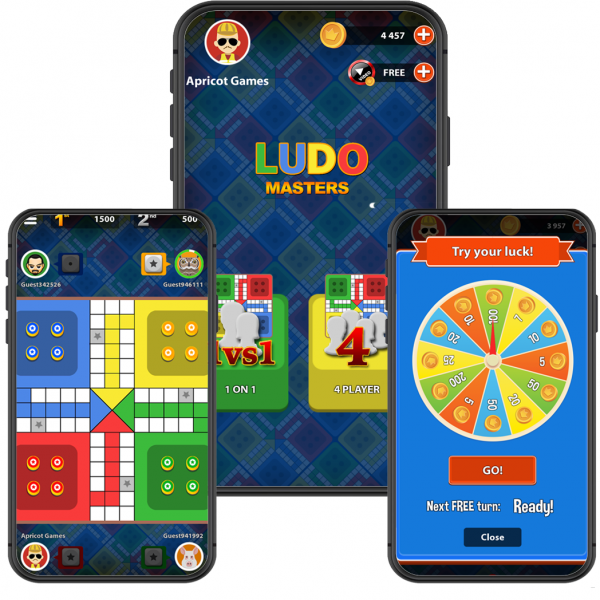 online multiplayer ludo source code and template
